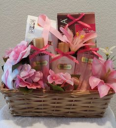 breast cancer gifts breast cancer awareness gift basket by gifted occakesions 12314