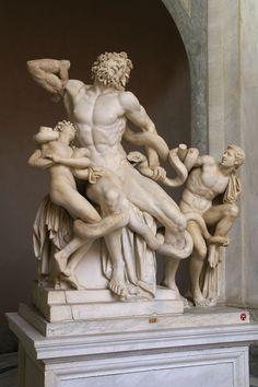 Vatikanische Museen, Cortile del Belvedere/Cortile Ottagono, Laokoon-Gruppe (Octagonal Courtyard, Laocoon Group)