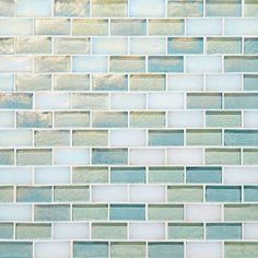 Anderson Tile From American Olean Daylight Sky Blend Go09 Brick Joint Garden Oasis Mosaic Tiles