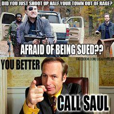 yesssss! Breaking Bad AND Walking Dead!