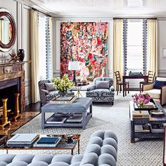 Its-hard-to-take-your-eyes-off-of-a-Cecily-Brown-painting.-Inspiring-New-York-City-interior-by-@stev.jpg (640×640)