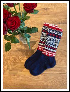 Sokker strikket i Viking Raggen