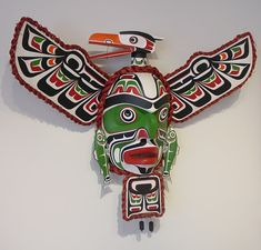 Komokwa • Chief of the Undersea World Mask by Stephen Bruce, Kwakwaka'wakw artist (W70303)
