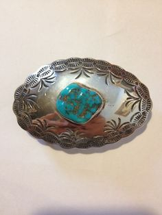 #Navajo #Turquoise #Sterling #BeltBuckle #Silver #sterlingbuckle #navajojewelry #navajobuckle #vintagejewelry #turquoisebuckle #turquoisejewelry #vintagenavajojewelry Jewelry #vintage #blueturquoise http://etsy.me/1Abget0
