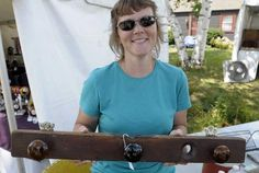 great article about upcycling and repurposing flea market or thrifty finds