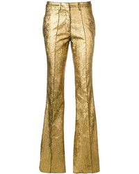 Gold Pants | Women's Fashion