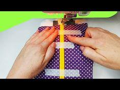 Dikişi büyük ölçüde kolaylaştıracak dikiş hileleri ve püf noktaları (seçim numarası 12) - YouTube Sewing Hacks, Sewing Tutorials, Sewing Crafts, Sewing Tips, Techniques Couture, Sewing Techniques, Sewing Stitches, Sewing Patterns, Life Hacks Youtube