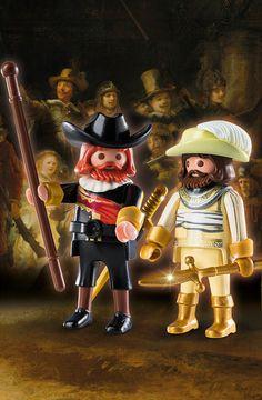 Nueva serie limitada de Playmobil ®: La Ronda de Noche de Rembrandt - muy pronto en playmyplanet!