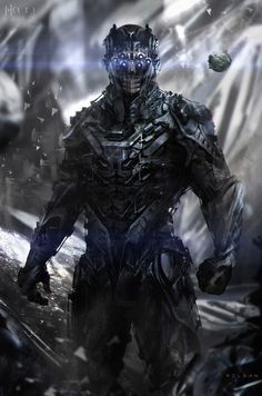 Sci-Fi Art: Space-Soldier - 2D Digital, Sci-fiCoolvibe – Digital Art