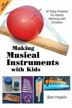 Written for adults, this hands-on guide demonstrates how to make easy musical instruments with children. Detailed instructions are included for making more than 60 unique instruments that are suitable