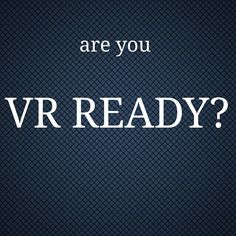 An awesome Virtual Reality pic! Are you VR ready? #virtualreality #vr #oculus #oculusrift #htcvive #samsungvr #custompc #highperformance #topspec #goggles by gadgetjoe88 check us out: http://bit.ly/1KyLetq