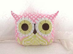 make a pink owl.