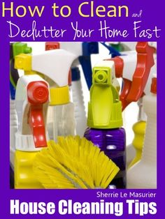 Free Kindle Book For A Limited Time : House Cleaning Tips: How to Clean and Declutter Your Home Fast - Do you enjoy house cleaning? The truth is most of us don't. This book shows you not only how to clean and declutter your home fast but also how to make the process feel less like a chore.In addition to learning how to declutter, you'll find spring cleaning tips and techniques for your annual spring clean as well as some general tips and ideas for maintaining a clean house. There's even a…