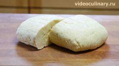 Песочное тесто со сметаной от videoculinary.ru