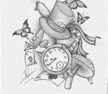 Alice In Wonderland Drawings - Bing Images