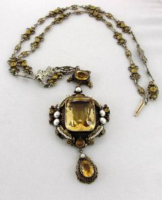 Early Century Jewelry: Fantastic by PastAccoutrementals on Etsy