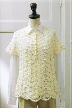 crochet spring tunic for girls | make handmade, crochet, craft