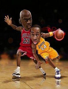 * Michael Jordan & Kobe Bean Bryant *