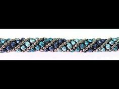 Best Seed Bead Jewelry 2017 Crossing stripes Russian Spiral Tutorial How to make a bracelet Beading tuto Paper Beads Tutorial, Beaded Bracelets Tutorial, Earring Tutorial, Necklace Tutorial, Seed Bead Tutorials, Beading Tutorials, Seed Bead Jewelry, Beaded Jewelry, Beaded Necklace