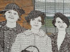 textile art by Sue Stone