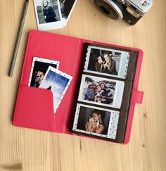 Instax Mini album for 120 photos of your sweet memories. The Mini album is the perfect way to keep all your captured moments organised.  - Album size: 115 x 200 x 20 mm. - Album aviable in pink / brown / orange / white / mint / dark blue colors (dark blue - currently out of stock).