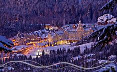 I mean who wouldn't want to live in a literal winter wonderland?!   Whistler