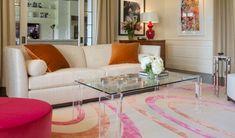Springtime Eclecticism Living Room