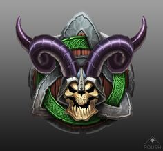 ArtStation - Viking Icon, Adam Roush