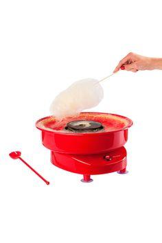 Venda Kitchen Artist / 8347 / Cozinha / Sobremesas e Lanches / Máquina de Algodão Doce Vermelho. De 55€ por 31€.