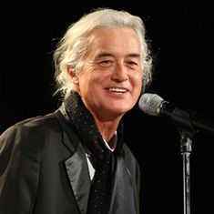 Jimmy Page in later years.....