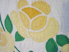close view of the colors and applique