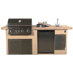 lion resort q bbq grill island from woodland direct