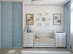 Дизайн детской комнаты для новорожденного продуман до мелочей дизайнерами студии Tatiana Zaitseva Design, которые оппозиционируют себя как студия комфортных интерьеров. И это действительно так.