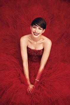 Anne Hathaway for Harper's Bazaar US November 2014