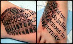 Rome tattoo