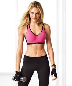 How to work out like a Victoria's Secret angel