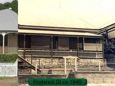 Old and current photographs of historic houses around Ipswich, Queensland, taken from the Picture Ipswich web site. Historical Architecture, Architecture Details, Queenslander House, Australian Homes, Historic Homes, Then And Now, All Over The World, Old Houses, Restoration