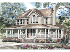 Dunroyal Country Home Plan 055D-0178 | House Plans and More