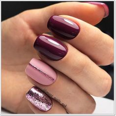 Easy Fall Nail Designs Ideas 57 must try fall nail designs and ideas Easy Fall Nail Designs. Here is Easy Fall Nail Designs Ideas for you. Easy Fall Nail Designs 57 must try fall nail designs and ideas. Easy Fall Nail D. Simple Nail Art Designs, Fall Nail Designs, Elegant Designs, Burgundy Nail Designs, Trendy Nail Art, Easy Nail Art, Light Colored Nails, Light Nails, Burgundy Nails
