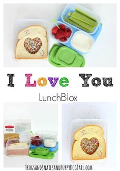 I love you LunchBlox idea for kids on FSPDT #BloxOff #IC  #ad @rubbermaid