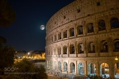 Colosseo at night by nicolamastrandrea #architecture #building #architexture #city #buildings #skyscraper #urban #design #minimal #cities #town #street #art #arts #architecturelovers #abstract #photooftheday #amazing #picoftheday