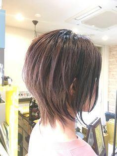 Short Cropped Hair, Short Hair With Layers, Layered Hair, Medium Hair Cuts, Short Hair Cuts, Medium Hair Styles, Short Hair Styles, Asian Short Hair, Asian Hair