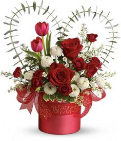 valentines day floral arrangements - Cheap Flowers For Valentines Day