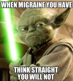 When Migraine you have - think straight yo uwill not. June is Migraine Awareness month! As a woman with Chronic Migraine I hope people will make this invisible illness visible!