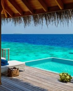The resort is encircled by uninhabited islands, coral reefs and jaw-dropping marine life.