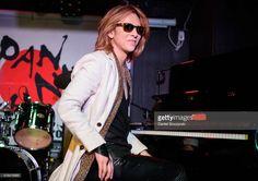 Yoshiki performs during Japan Nite showcase at Elysium on March 18, 2016 in Austin, Texas.