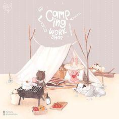 WEBSTA @ fahfahfahs - Watercolor Workshop FAHFAHS style ~camping theme!!!~~~( 12.00-17.00 , Sunday 29th May 2016 at fabcafe aree)1,500฿/คน (ราคารวมค่ากระดาษ และอุปกรณ์ พวกสีน้ำ ถาดสีและพู่กัน)รายละเอียดครอสการสอนจะมี update อีกทีรูปถัดไปค่า **** เปิดจองวันอังคารที่ 24 พค ที่นั่งมีจำนวนจำกัดนะคะ