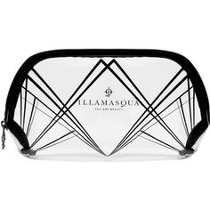 Illamasqua Art Deco Pouch make-up bag ($16) ❤ liked on Polyvore featuring beauty products, beauty accessories, bags & cases, illamasqua, make up purse, travel toiletry case, travel bag and wash bag