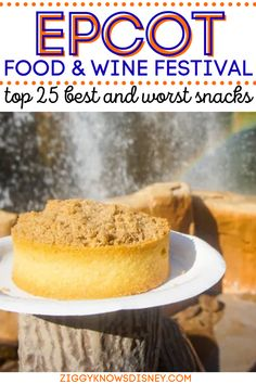 If you are planning on visiting Disney World's Food and Wine Festival at Epcot, then you will love this list of the best and worst snack foods! This list from Ziggy Knows Disney tells you all of the food options that are a must-have and which ones you can skip. Read this awesome advice from someone who knows Disney! Best Epcot Restaurants, Disney World Restaurants, Wine Recipes, Snack Recipes, Snacks, Smoked Corned Beef, Pork Roast In Oven, Baked Shrimp Scampi, Butternut Squash Ravioli