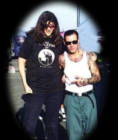 Joey Ramone & Mike Ness